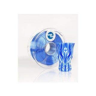 Silk Ocean Blue 1,75mm 1kg Azurefilm 3D Filament