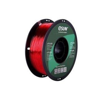 eTPU-95A 1,75mm Transp. Red 1kg eSun 3D Filament