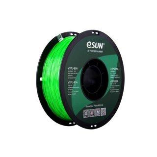eTPU-95A 1,75mm Transp. Green 1kg eSun 3D Filament