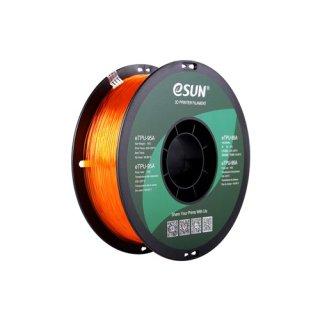 eTPU-95A 1,75mm Transp. Orange 1kg eSun 3D Filament