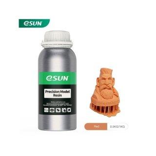 UV/LCD Precision Model Orange Red 0,5kg eSun 3D Resin 405nm