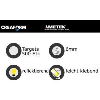 Creaform Positioning Targets (500) Refl. Adhes